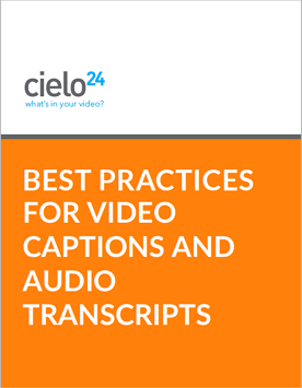 Best Practices Captions Transcripts Cover