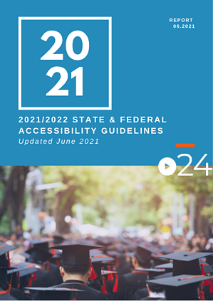cielo24 eBook COVER - 2021_2022 State & Federal Accessibility Guidelines - 061521