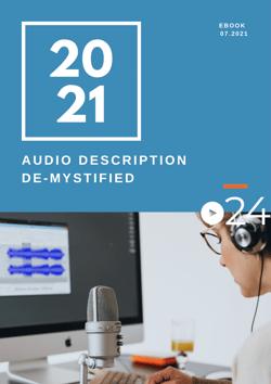 cielo24 eBook COVER - Audio Description De-mystified