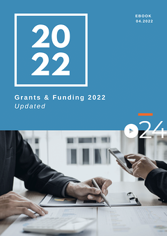 cielo24 eBook COVER - Grants and Funding 2021
