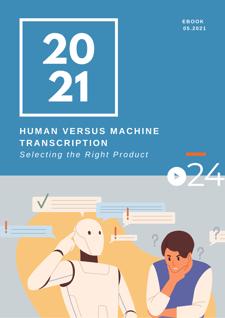 cielo24 eBook COVER - Human vs Machine Transcription - 0721