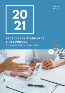 cielo24 eBook COVER - Section 508 Standards and Resources Checklist