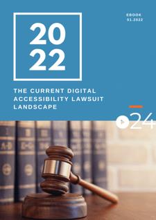 cielo24 eBook COVER - The Current Digital Accessibility Lawsuit Landscape