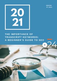 cielo24 eBook COVER - The_Importance_of_Transcript_Keywords