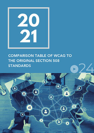 cielo24 eBook COVER - WCAG vs Section 508 Standards