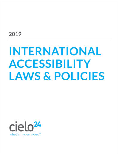 COVER_International Accessibility Laws and Policies